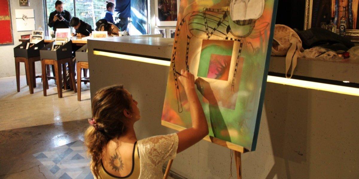 Merkdearte, un espacio donde el arte cobra vida