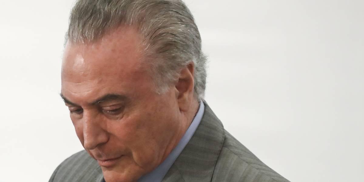 Elecciones en Brasil: Michel Temer no buscará la reelección