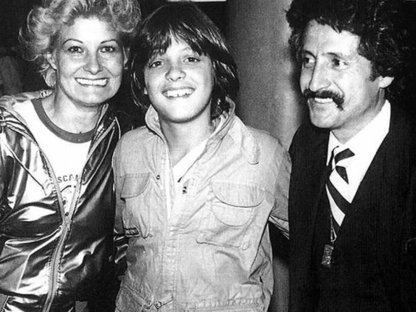 Marcela, Luis Miguel y Luis Rey