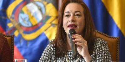 Canciller María Fernanda Espinosa sigue analizando su reacción a resultados electorales en Venezuela
