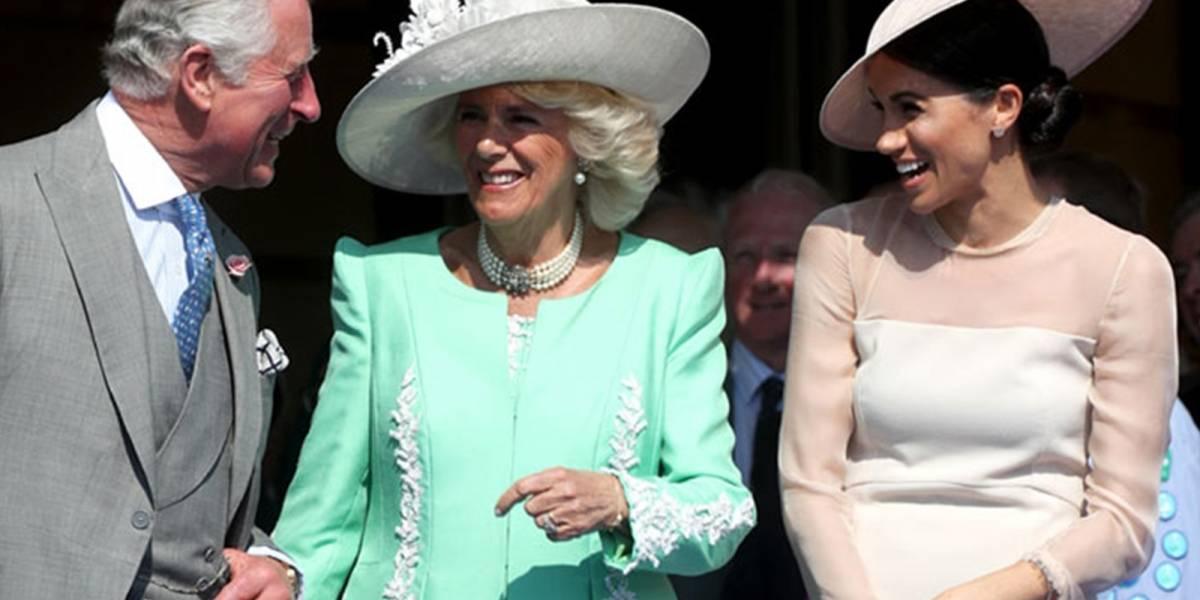 Mira el divertido percance del príncipe Harry durante su discurso que hizo reír a Meghan