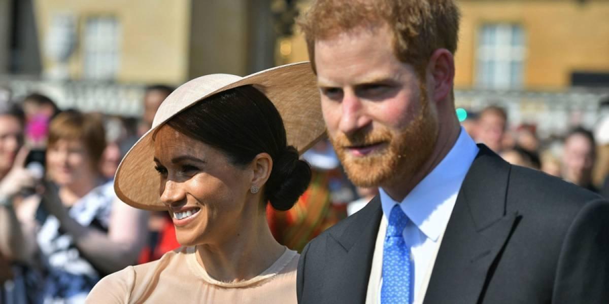 El príncipe Enrique y Meghan Markle en su primer evento real como recién casados