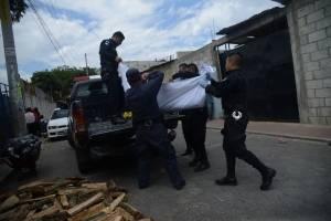 mujer asesinada en Tierra Santa, Villa Nueva