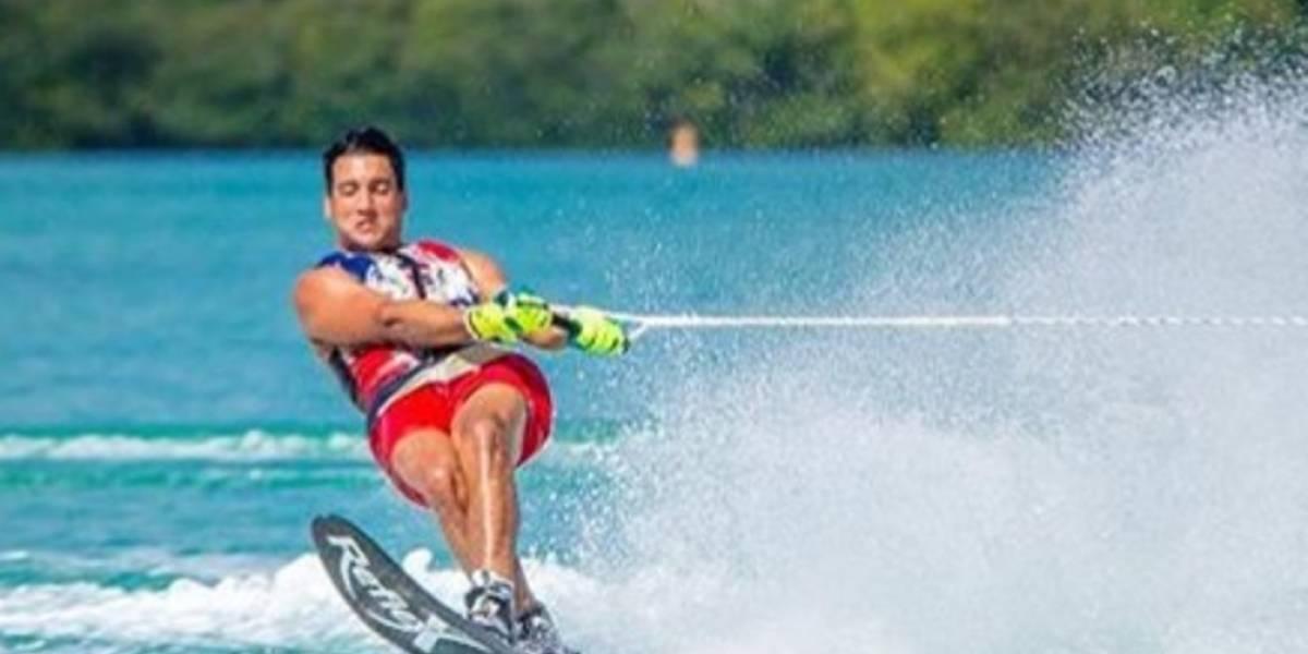 Robert Pigozzi primer latinoamericano en clasificar a para un Open Máster de Slalom