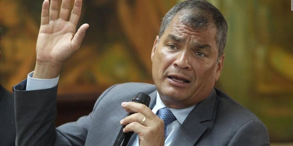 #NoSeMetanConCorrea es tendencia tras solicitud de vincular a Correa en caso Balda