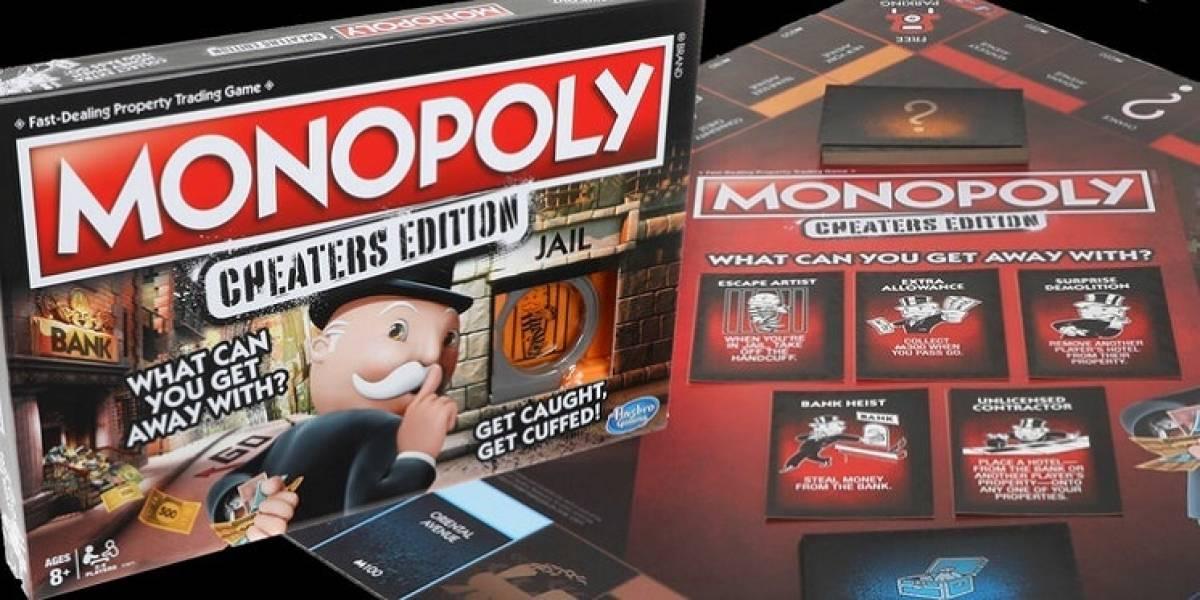 Hasbro lanza un nuevo Monopoly dedicado a los jugadores tramposos