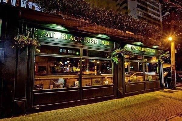 All Black Pub