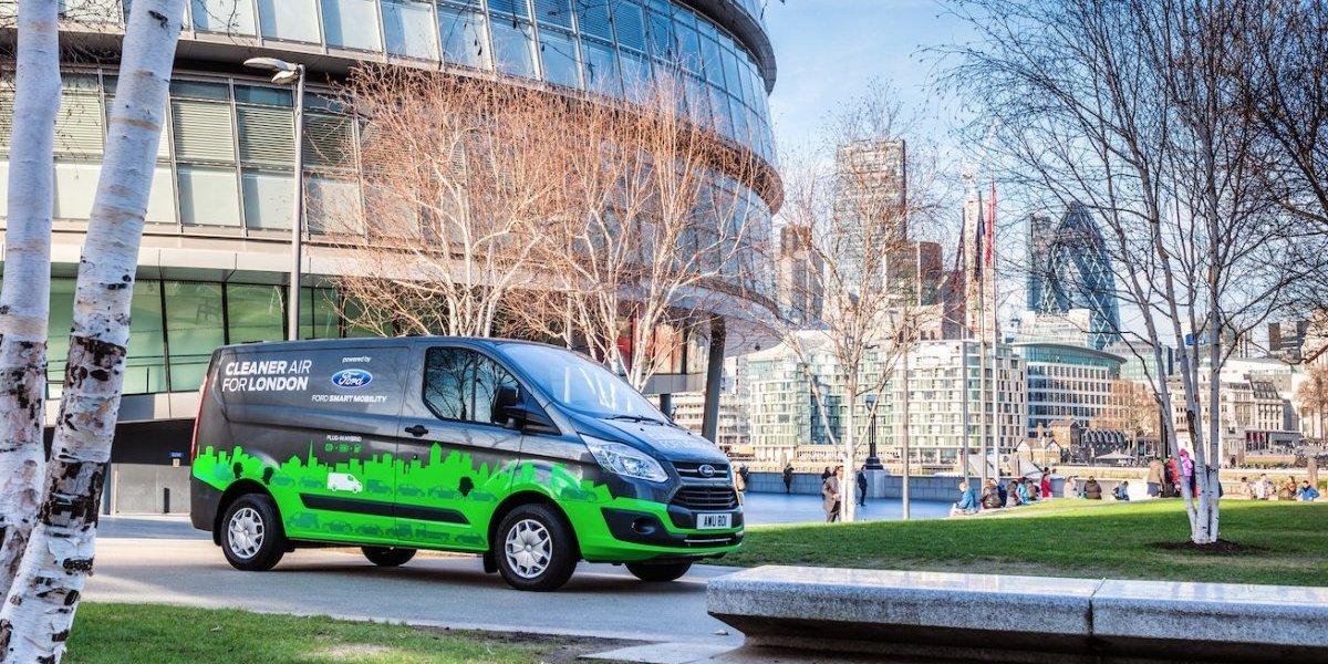 Ford amplía pruebas de su modelo Transit híbrida enchufable