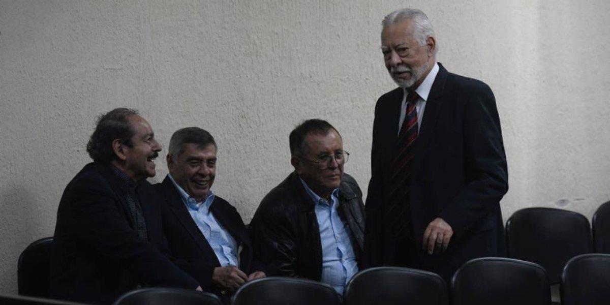 Piden arresto domiciliario para condenados por caso Molina Theissen por riesgo de coronavirus