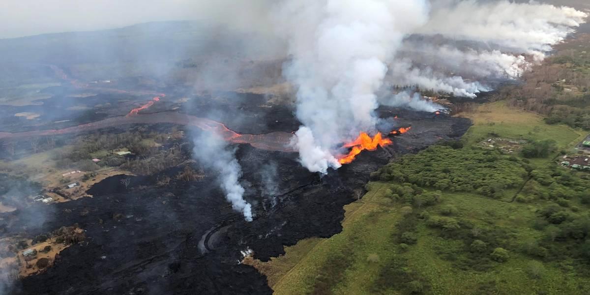 Lava invade usina geotérmica e cria risco de liberação de gases tóxicos
