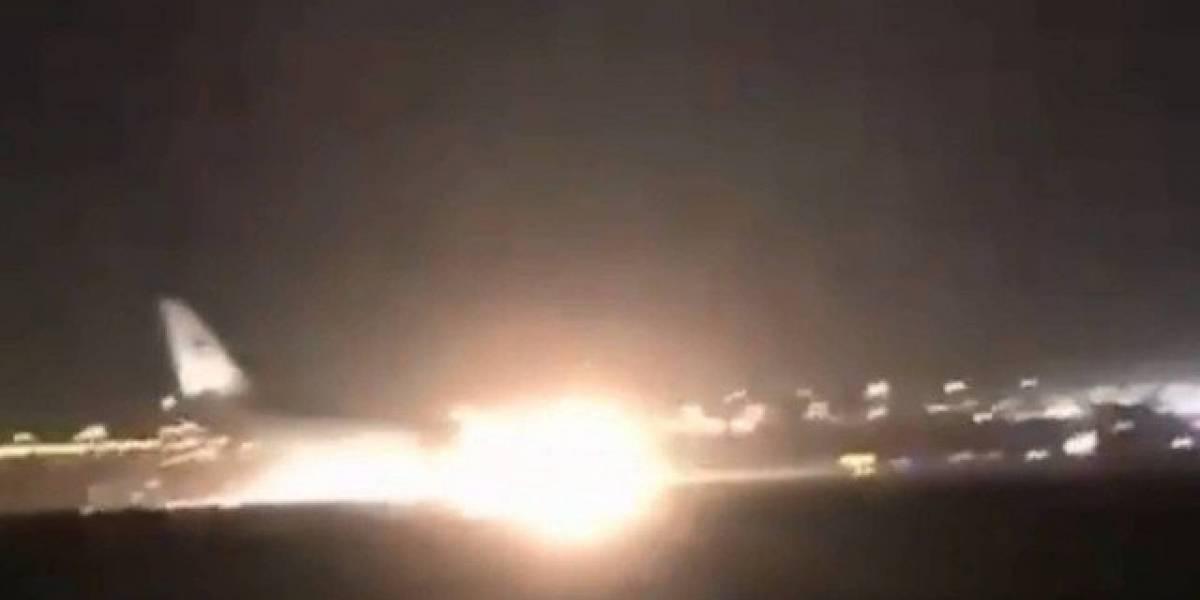 VÍDEO: avião realiza pouso de emergência e mais de 50 ficam feridos