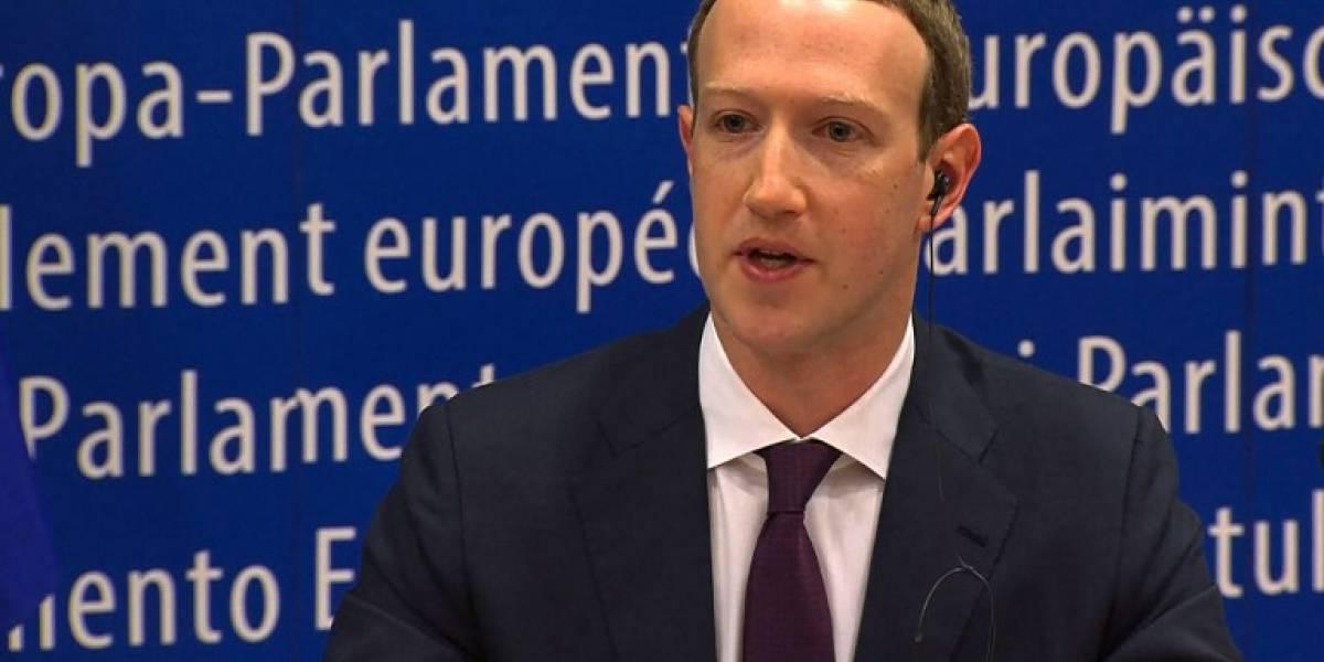 """El """"mea culpa"""" de Zuckerberg no convence en la Eurocámara"""
