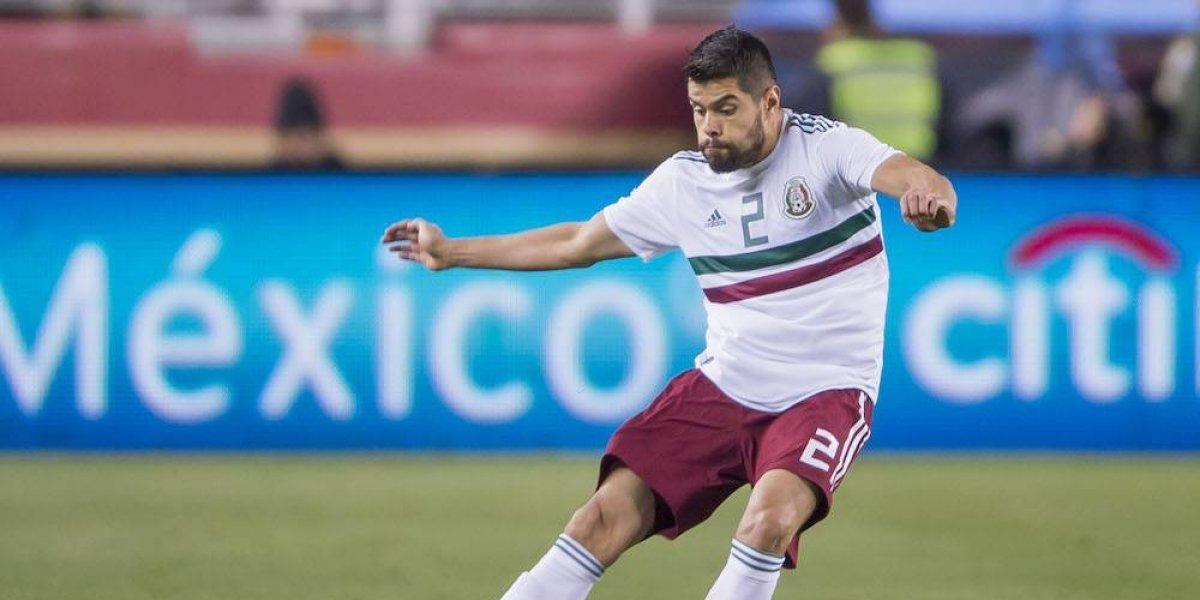Néstor Araujo se pierde el Mundial de Rusia 2018