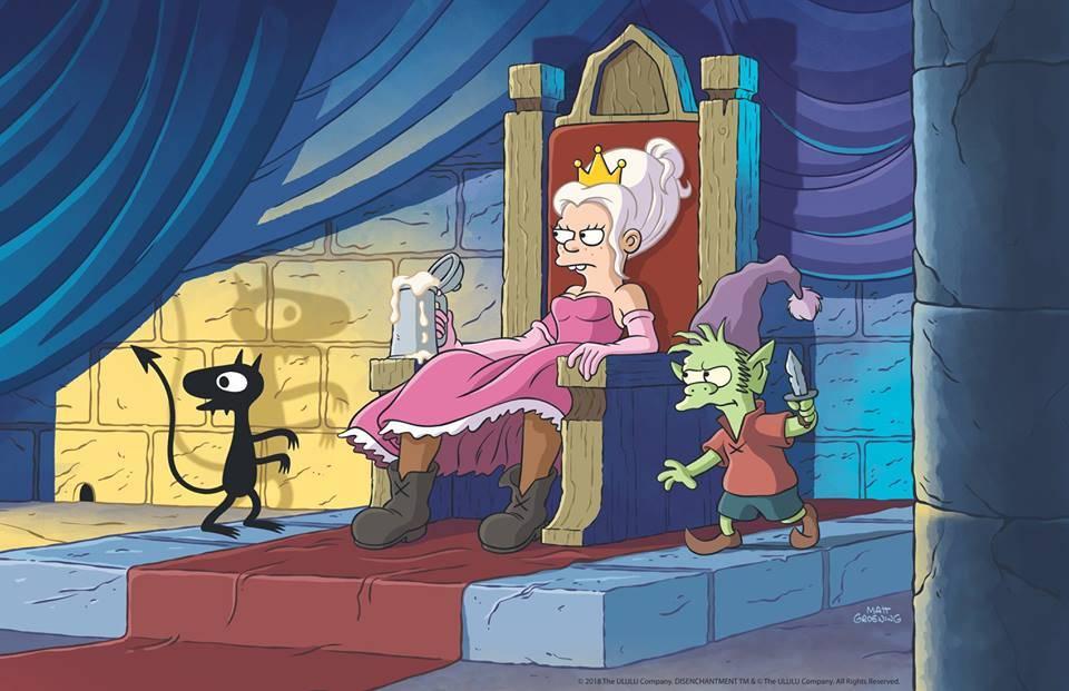 Matt Groening anunció su proyecto a través de Reddit