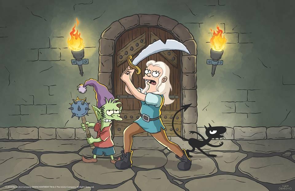 Disenchantment de Matt Groening saldrá el 17 de agosto en Netflix