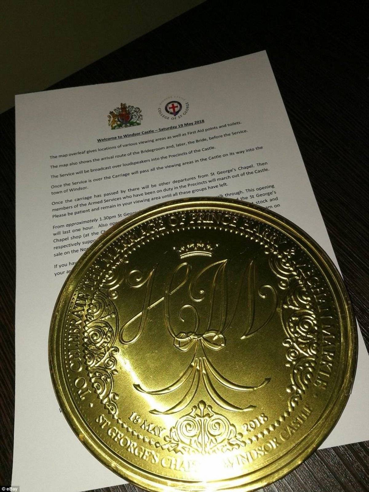 Moneda Harry y Meghan