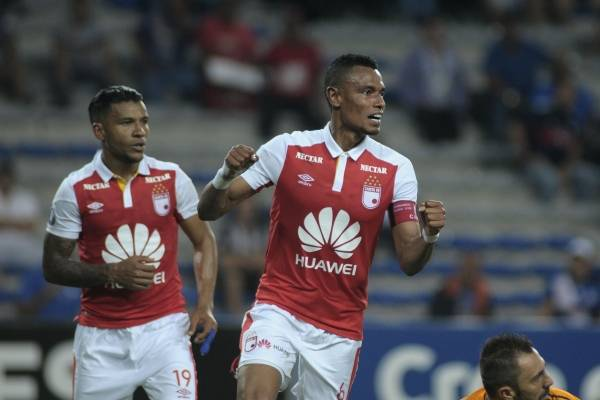Goles Emelec VS Independiente Santa Fe Copa Libertadores 2018