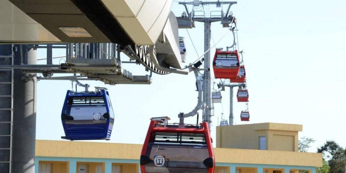Inauguran el teleférico de Santo Domingo