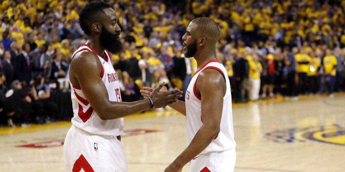 Houston iguala serie ante los Warriors