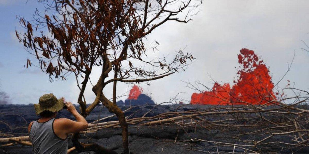 Hawai: Tapan pozos de planta térmica por erupción volcánica