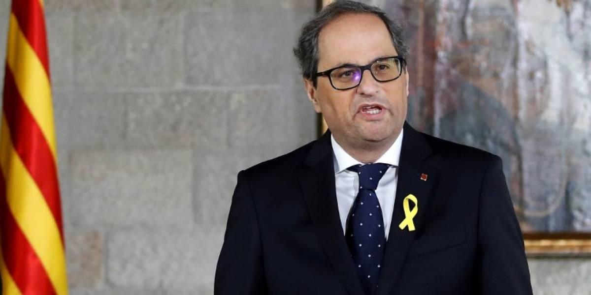 Aplazan la toma de posesión en Cataluña por bloqueo de Madrid