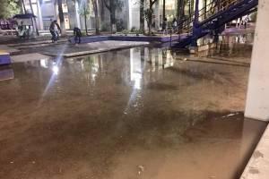 FES Aragón inundadaº