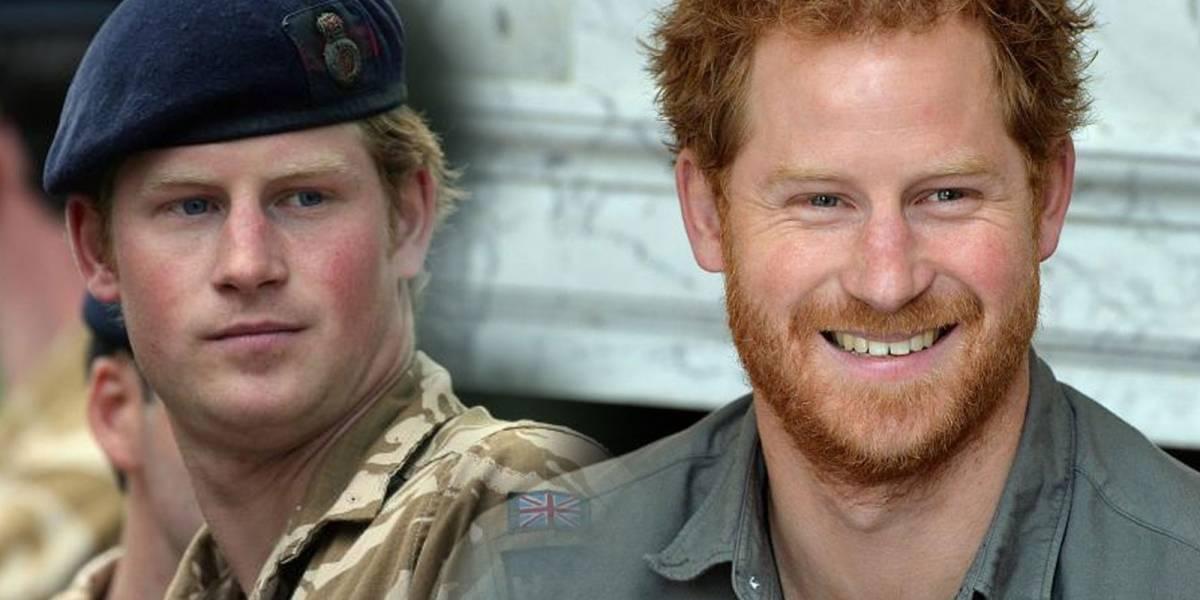 ¿Con barba o sin barba? Así se veía el Principe Harry antes de casarse con Meghan Markle