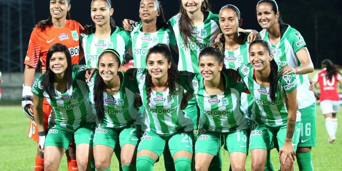 Atlético Nacional pegó primero en la final de Liga Femenina