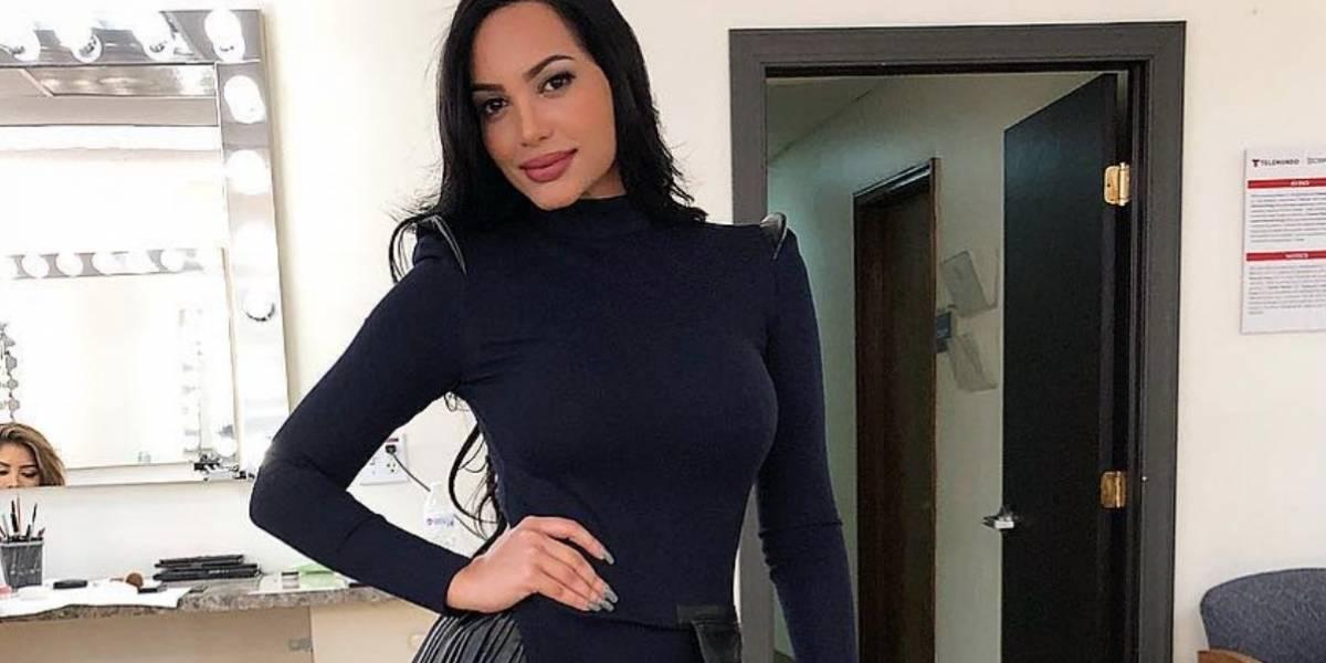 """Andrea Valdiri se disfraza de """"Maléfica"""" y sorprende en las redes"""