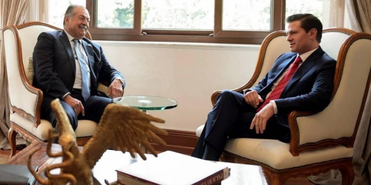 Peña Nieto se reúne con Andrew N. Liveris, director de DowDuPont