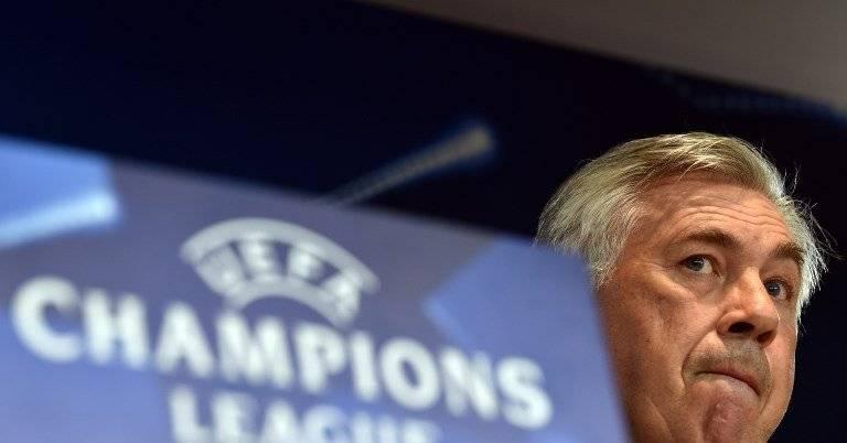 Carlo Ancelotti en conferencia de prensa