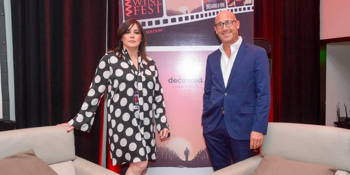 Santo Domingo Wine Fest celebró con un sorbo de cine
