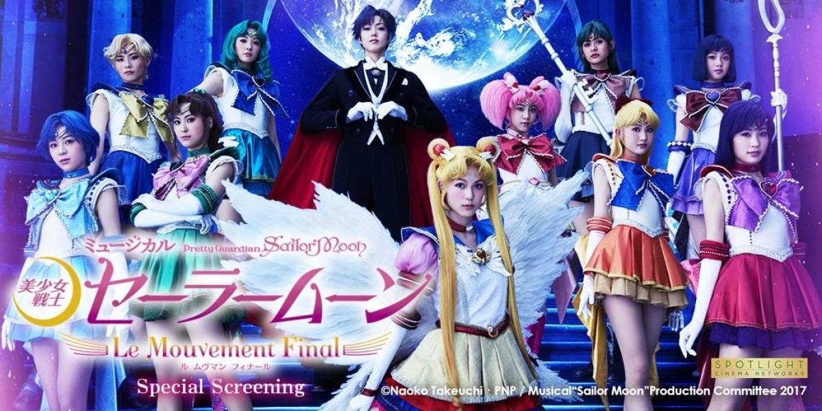 """""""Sailor Moon: El Musical"""" llegará a México con una proyección limitada, solamente en algunas ciudades"""