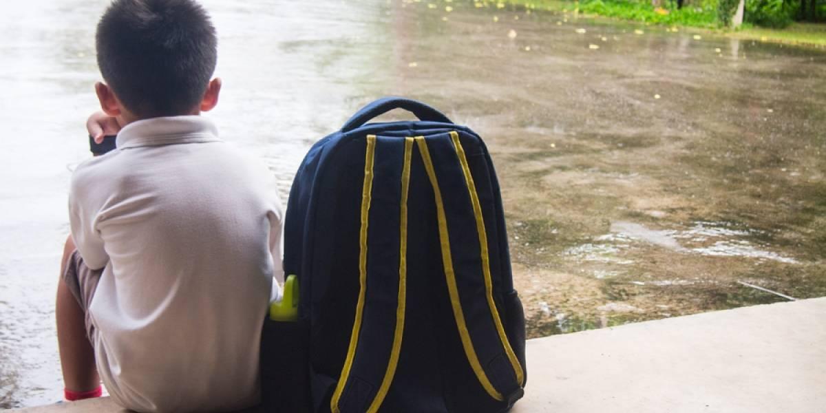 Más de 200 escuelas han sido afectadas por la lluvia en todo el país