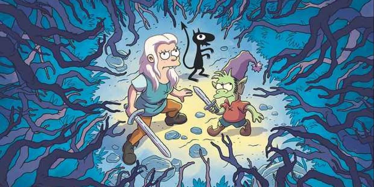 """Así es """"Disenchantment"""", la nueva serie del creador de """"Los Simpson"""""""