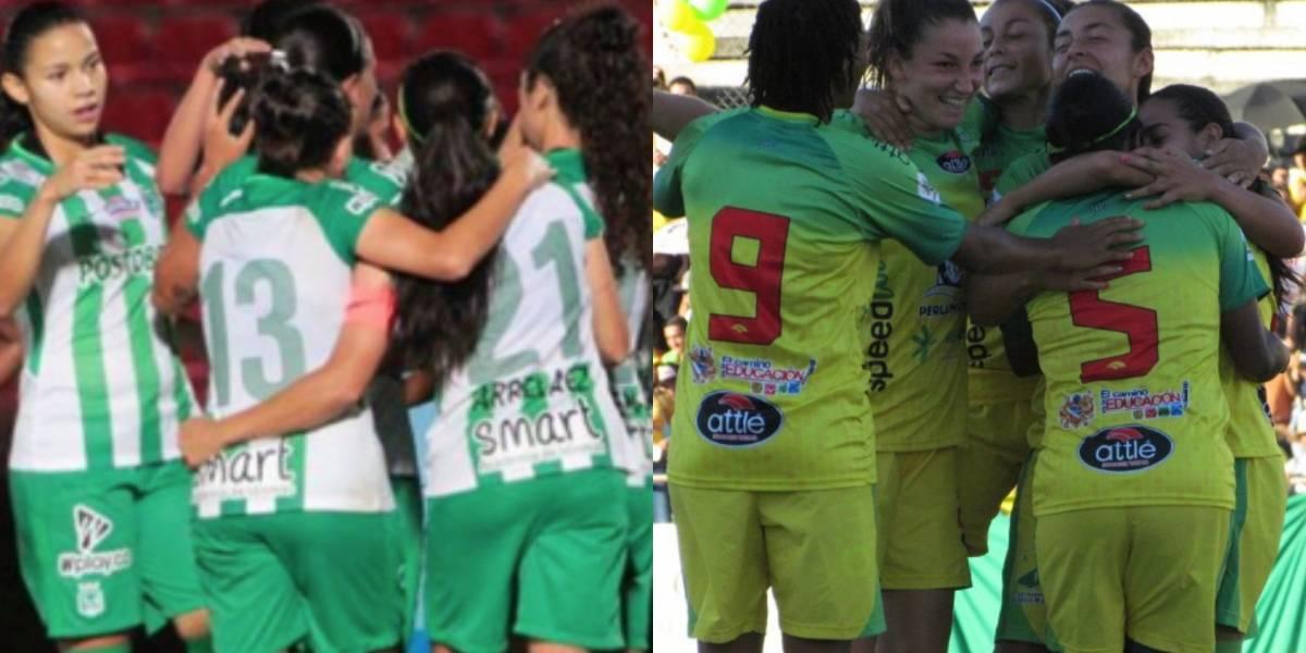 ¡Primer round! Nacional y Huila van por la corona de la Liga Femenina