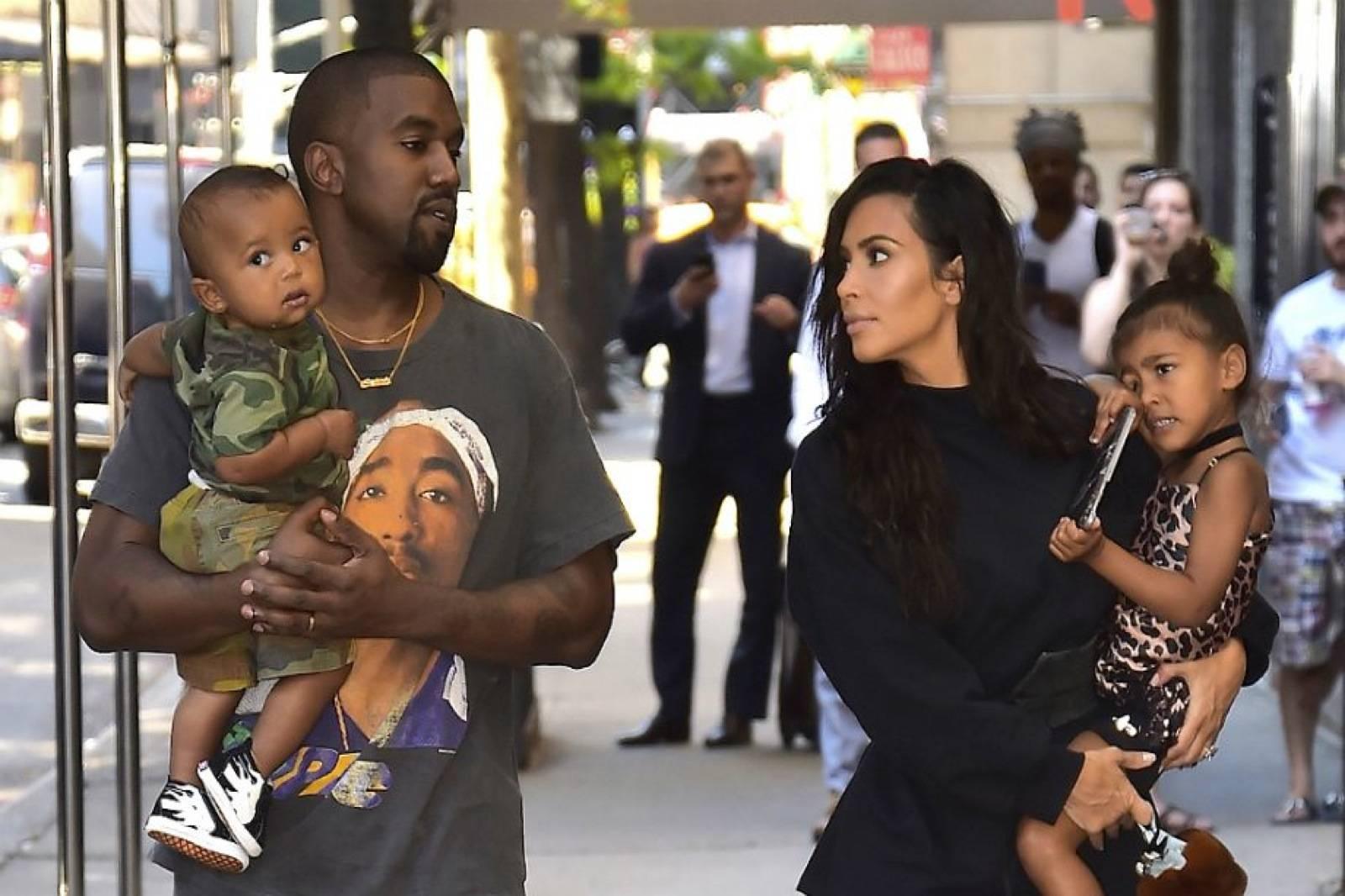 Kim Kardashian Familia