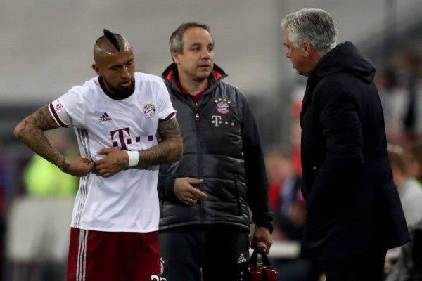 Ancelotti quiere reencontrarse con Vidal en Italia / Getty Images