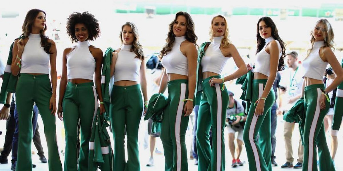 Regresan las Grid Girls a la Fórmula 1