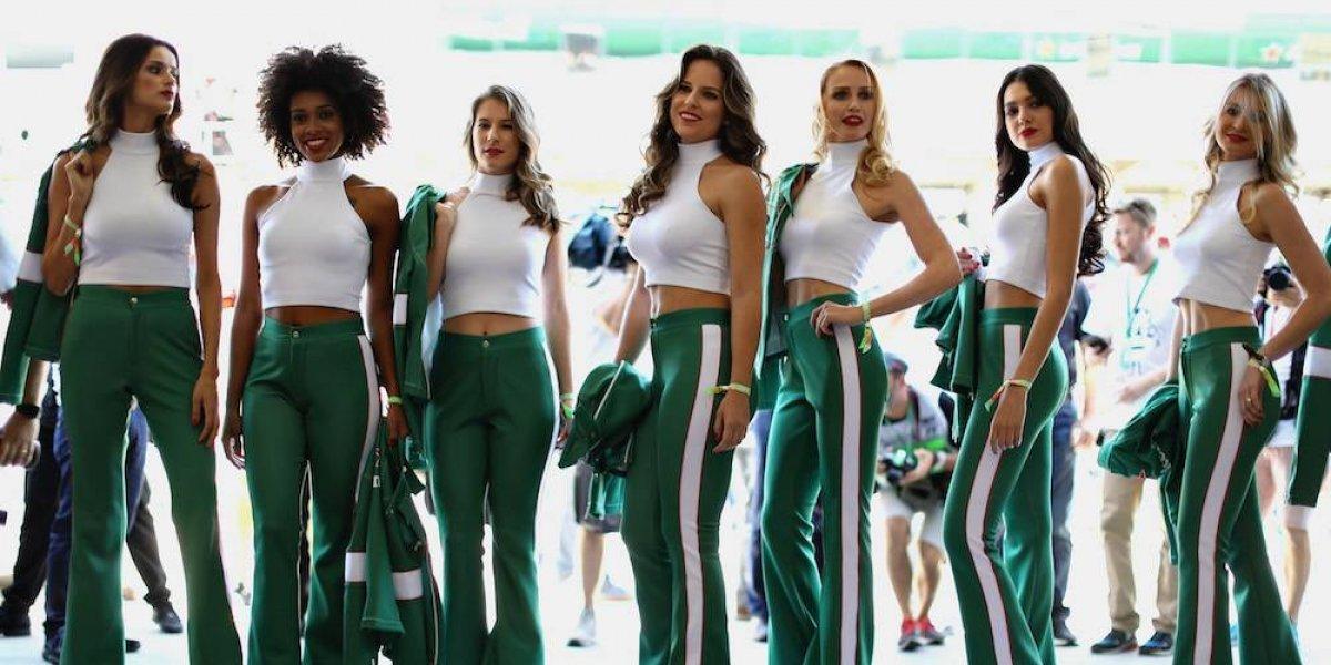 Regresan las Grid Girls a la Fórmula 1