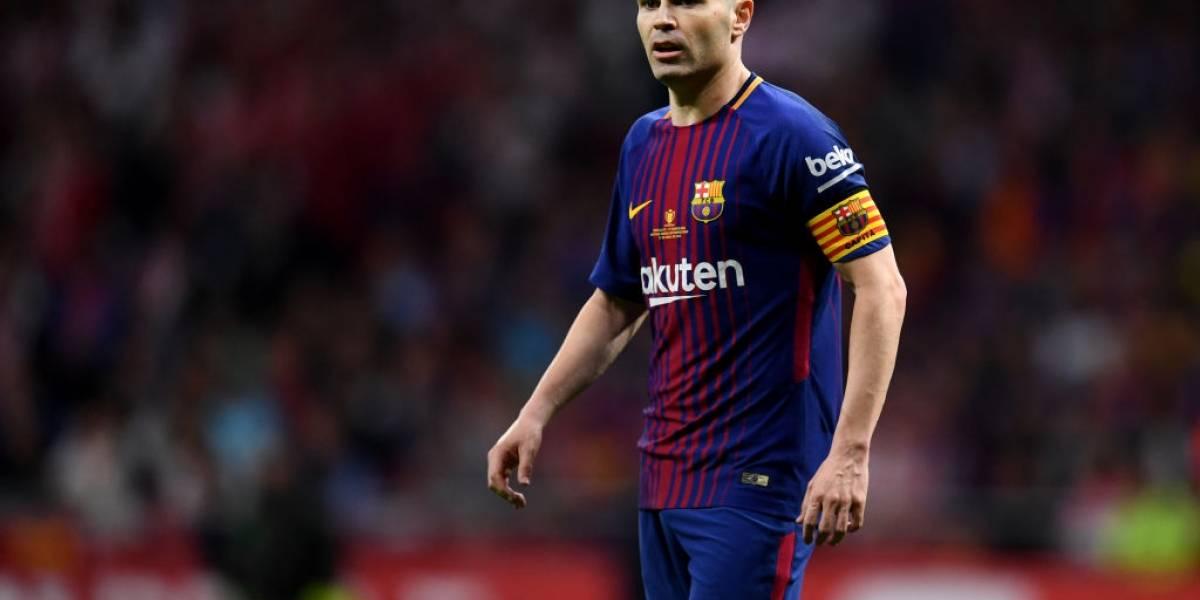 Las razones por las que Andrés Iniesta jugaría en México