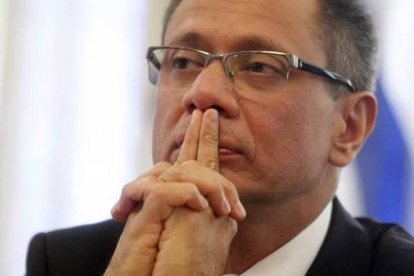 Fiscal pide mantener condena a exvicepresidente Glas en caso Odebrecht