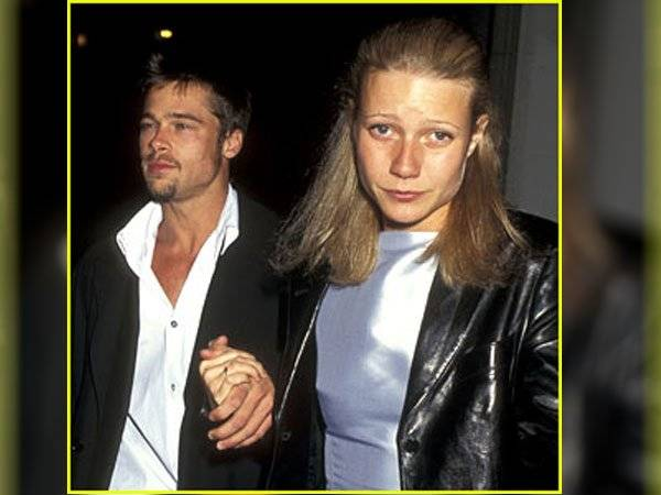 Gwyneth Paltrow Brad Pitt Harvey Weinstein