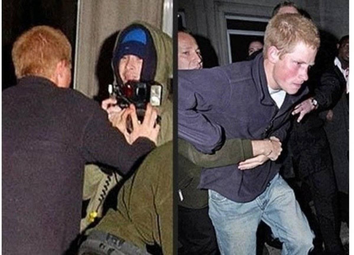 Harry pelea paparazzi
