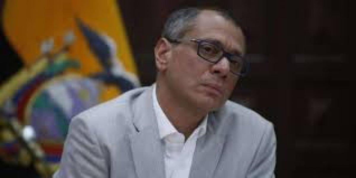 Jorge Glas hace petición desde la cárcel
