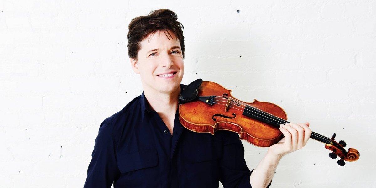 El virtuoso del violín Joshua Bell vendrá a Guatemala con una orquesta filarmónica