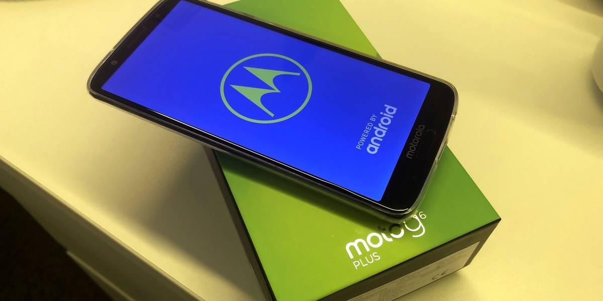 Motorola lanza en Chile el Moto G6, G6 Play y G6 Plus y estos son sus precios