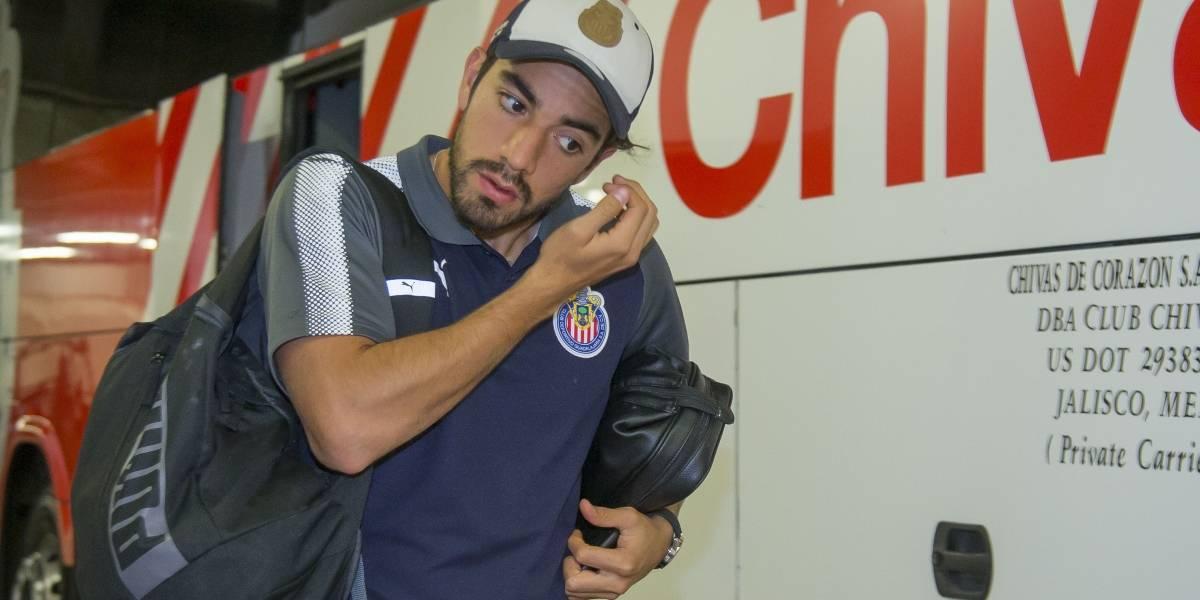 La imagen que augura el adiós de Rodolfo Pizarro de Chivas