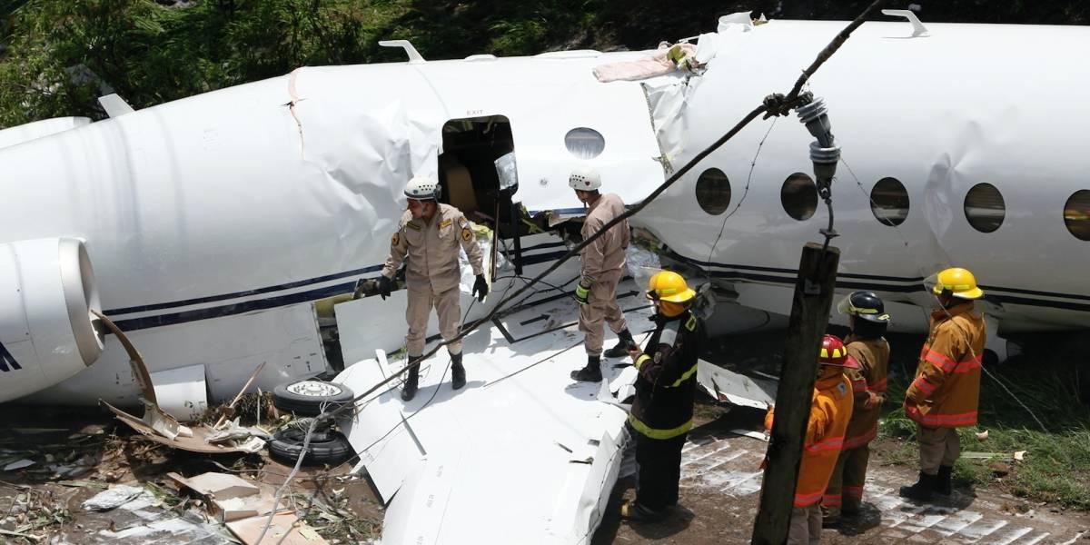 Pasajeros en avión accidentado en Honduras son de EE.UU.