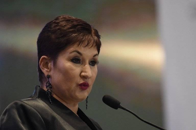 Exfiscal general Thelma Aldana. Foto: AFP